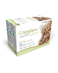 Applaws Cat Lata 70g Kitten Multipack 6x70 (4uds)