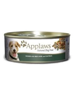Applaws Dog Lata 156gr Pechuga de Pollo, Ternera y Vegetales 6x156 (12uds)
