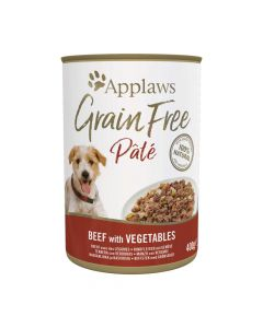 Applaws GF Dog Paté Lata 400g Ternera Con Vegetales (6uds)