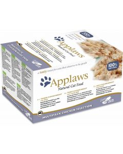 Applaws Cat Tarrina 60g Multipack Selección Pollo 8x60 (4uds)
