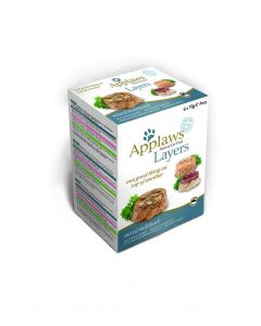 Applaws Cat Layer Multipack 6x70g (4uds)*