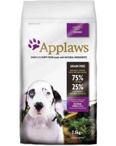 Applaws Dog Dry Puppy Razas Grandes Pollo 7,5kg