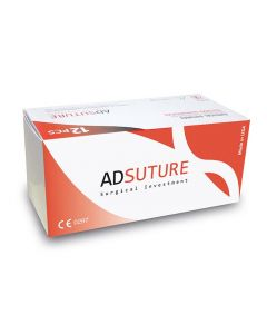 AD suture PGRapid USP3/0 Aguja 1/2 circ Pta  triang  26mm 70cm (12uds)