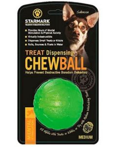 Treat Dispensing Chew Ball -  M , 7 cm