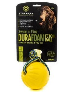 Swing & Fling Durafoam Fetch Ball on a rope - 3,5""