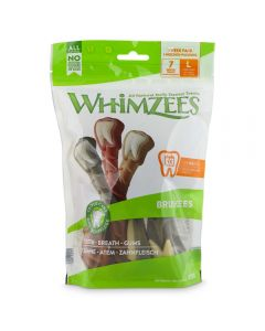 Whimzees Brushzees L Week 7pzs (6uds)