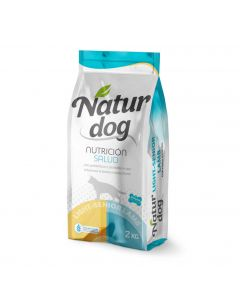 Naturdog Dry Light Senior Cordero 2kg