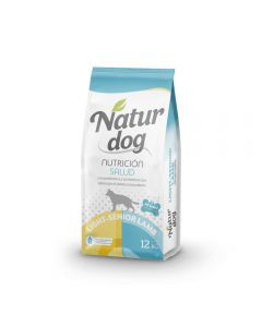 Naturdog Dry Light Senior Cordero 12kg