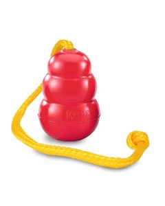 KONG Classic with rope T.L - 21,6 x 14,0 x 7,0 cm