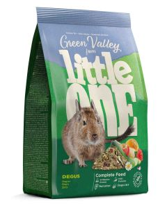 "Little One ""Green valley"". Alimento Degús 750g (4uds)"