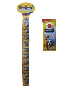 Tira Dentastix Mediano 7pcs (20uds) PVP 2€