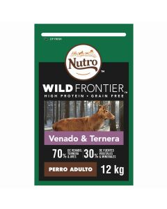 N WF Dog Adult Venado y Ternera 12kg