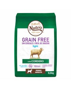 N GF Dog Adult Light Cordero 9,5kg