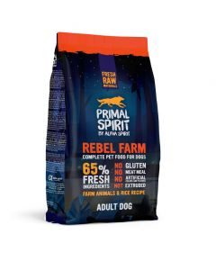 Primal Dog Rebel Farm 1kg