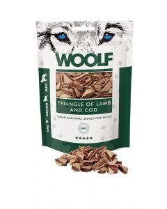 Woolf Lamb and Cod Triangle 100gr