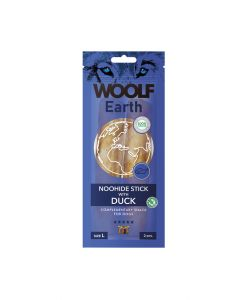 Woolf Earth Sticks with Duck L 85gr (10uds)