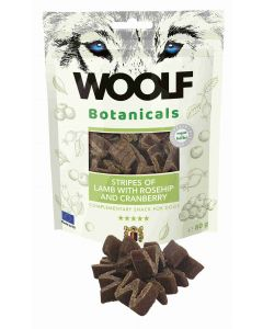Woolf Botanicals Lamb Stripes with Rosehip and Cranberry 80gr (15uds)